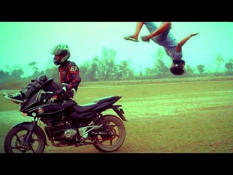 Nepal Bike Stunt (MoM RyderZ ) 2015 ᴴᴰ