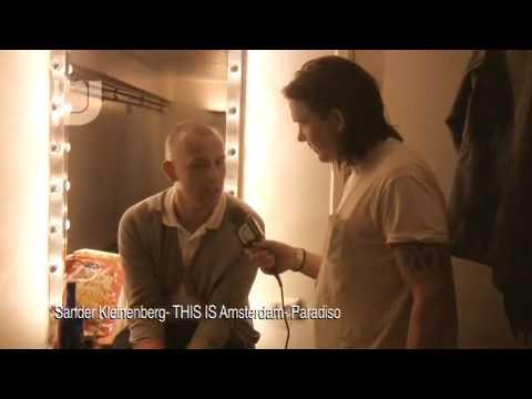 Interview: Sander Kleinenberg at club Paradiso, Amsterdam