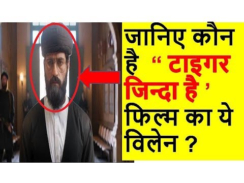 Know About Salman Khan,s Film Tiger Zinda Hai This Villain Actor