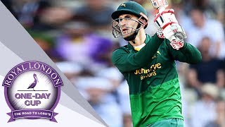 Hales Hits Incredible Six Through Commentary Box Window As Durham See Off Notts