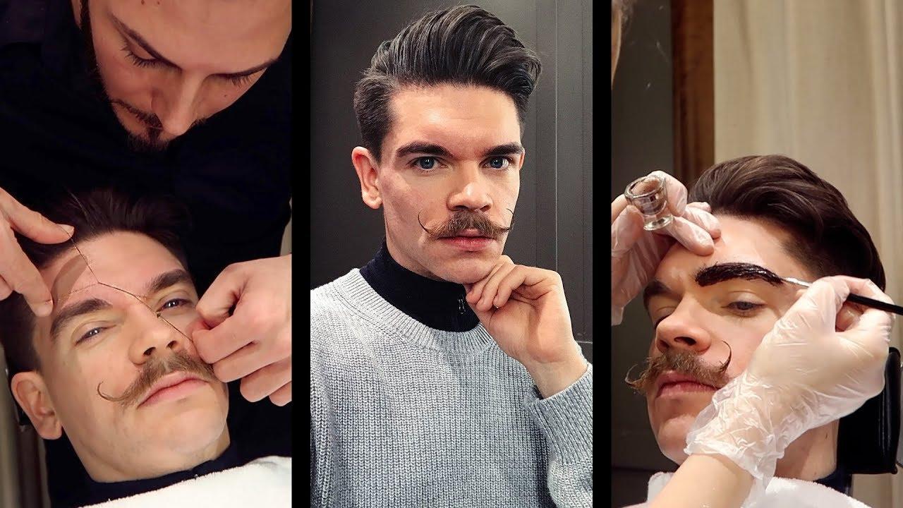 Men's Eyebrow Threading and Eyebrow Tinting