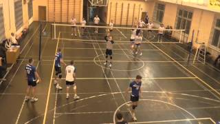 Волейбол. Студенческая Суперлига (муж) МАДИ-МГТУ ГА(3:0) 09-11-2015