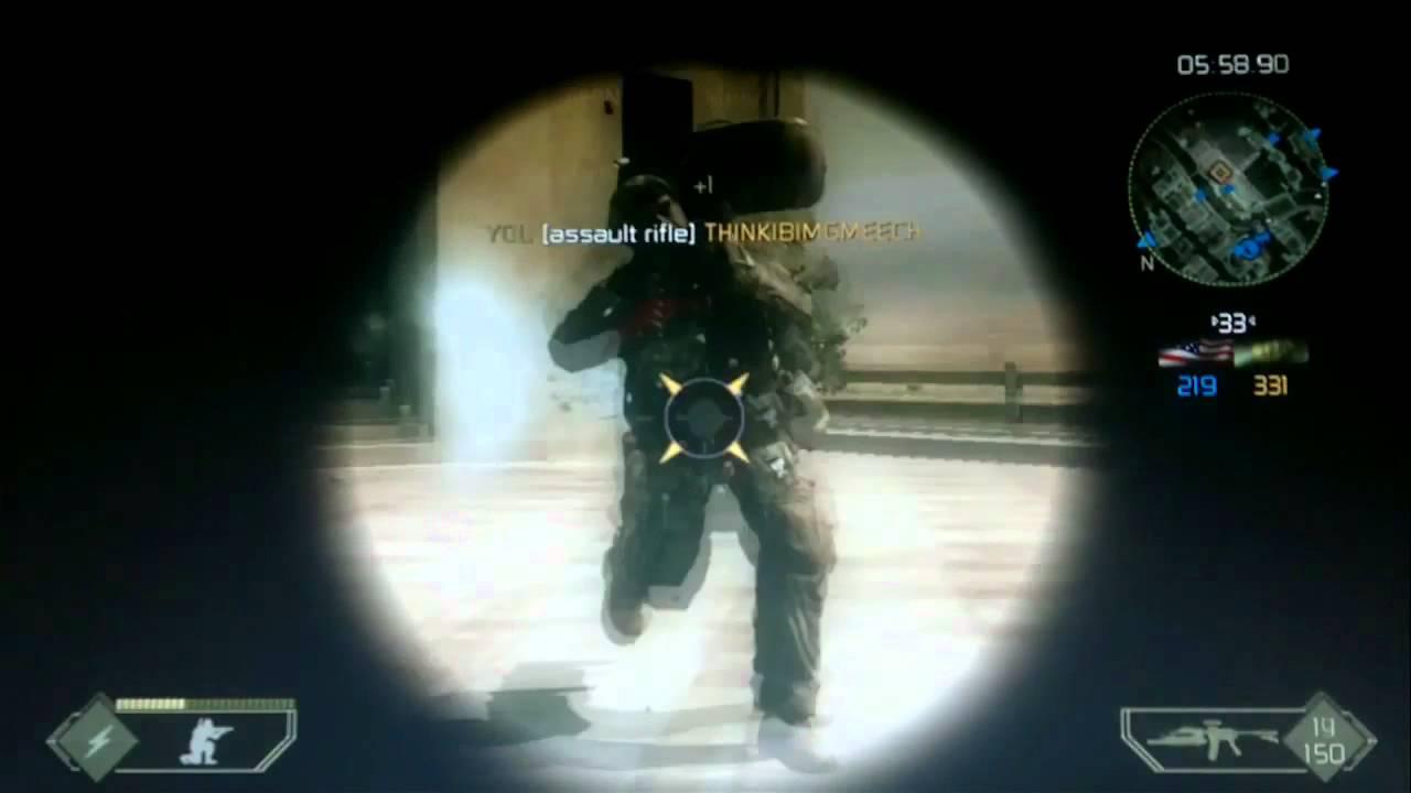 Battlefield 2 Modern Combat X360 Still Alive Multiplayer Gameplay