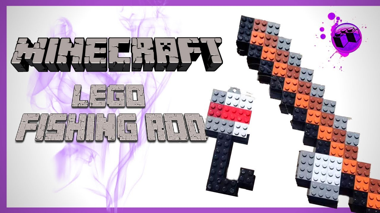 minecraft how to build a fishing rod
