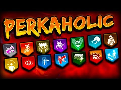 "How To Get ""PERKAHOLIC"" Trophy in Black Ops 4 Zombies"