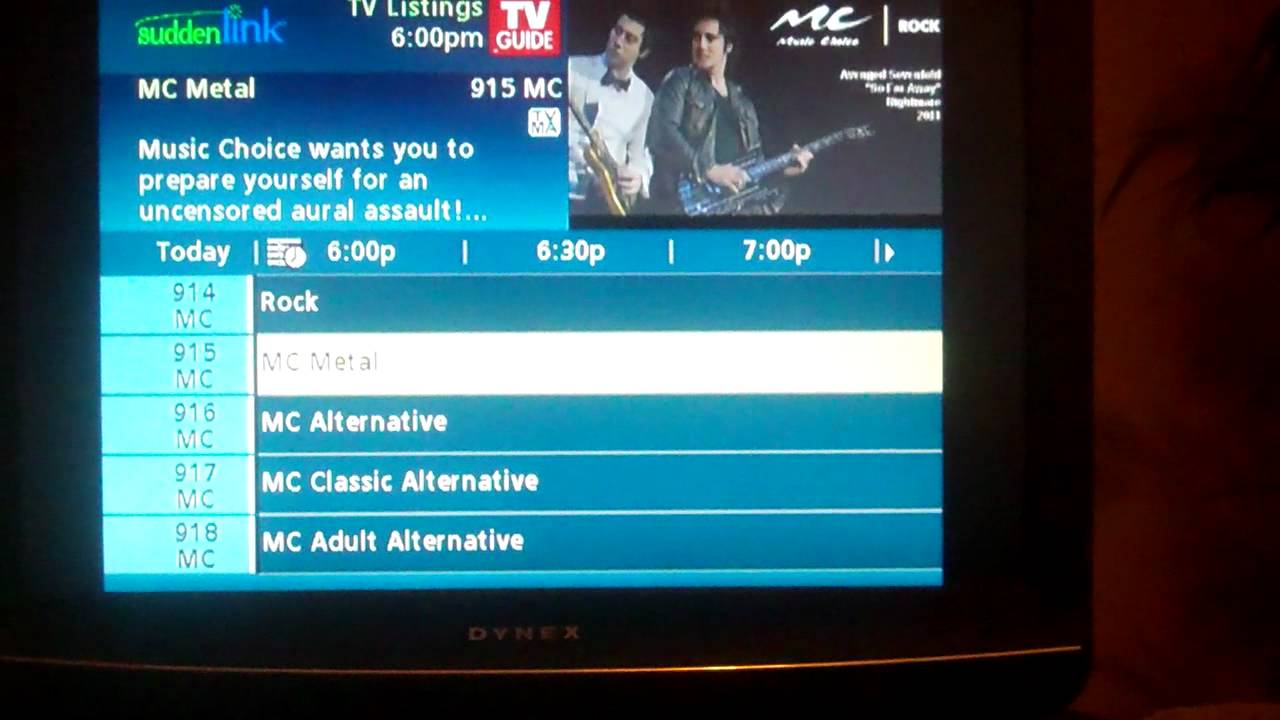 We Get The Suddenlink Music Channels Youtube