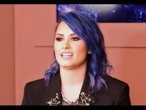 Demi Lovato Talks Sexy Neon Lights Music Video  New