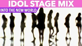 [IDOL STAGE MIX] SNSD - INTO THE NEW WORLD (TWICE, RED VELVET, GFRIEND & MORE)