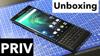 UNBOXING BlackBerry Priv! (BlackBerry Android)
