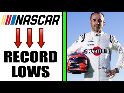 NASCAR HITS RECORD LOWS | KUBICA F1 COMEBACK  -- This Week in Racing
