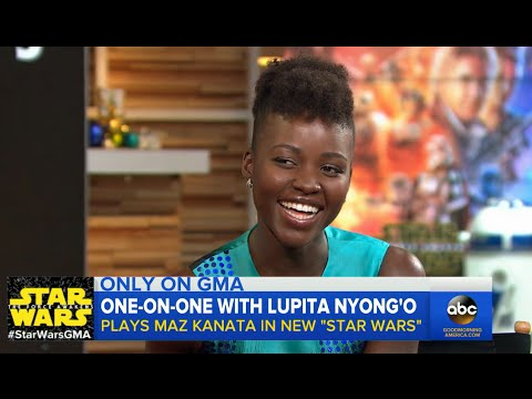 'Star Wars: The Force Awakens': Lupita Nyong'o on Playing Maz in