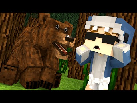 Minecraft Kindergarten - CAMP GONE WRONG?!