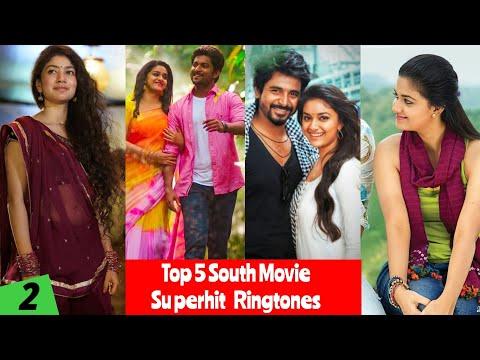 Top 5 South Movie Superhit Ringtones Bgm  South Movie Ringtones