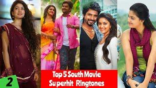 Top 5 South Indian Superhit Ringtone 2018 // The Super Khiladi 4 ringtone // Thadaka 2 love bgm