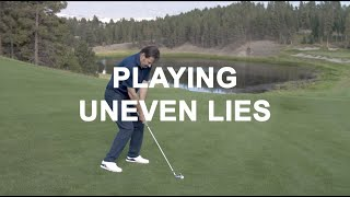 Playing Uneven Lies with Nick Faldo