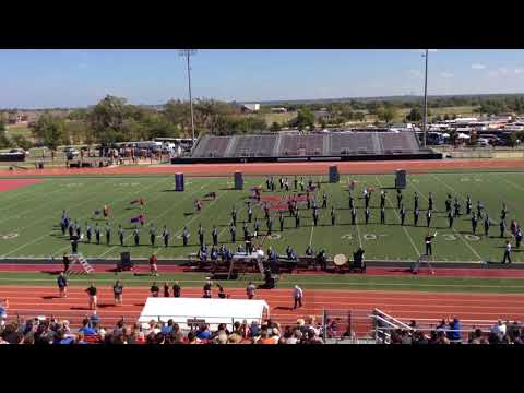 "Guthrie High School Marching Band:  OBA Performance ""Unbroken"", Oct. 14th 2017."