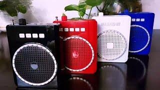 Громкоговоритель мегафон MP3 плеер Speaker K210(, 2016-11-23T23:18:48.000Z)