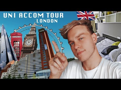 UNIVERSITY STUDENT ACCOMMODATION / HALLS ROOM TOUR - STRATFORD ONE- UNITE STUDENTS- LONDON