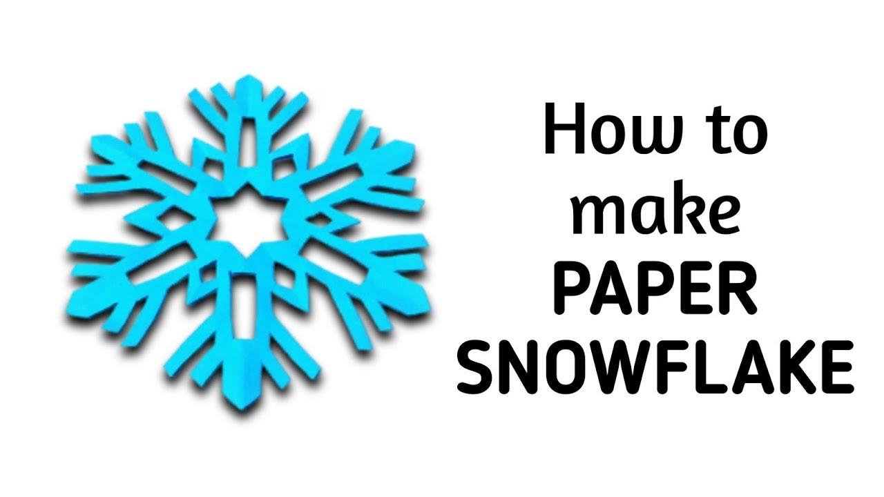 How to make a kirigami paper snowflake 2 kirigami for Kirigami paper art