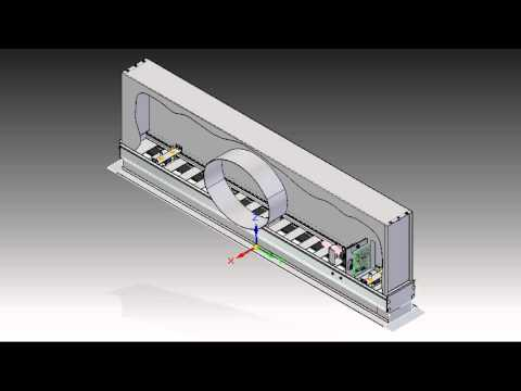 Vav Linear Diffuser Operation Youtube