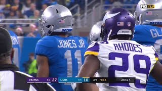 Marvin Jones vs Xavier Rhodes (2017 Thanksgiving) | WR vs CB Matchup