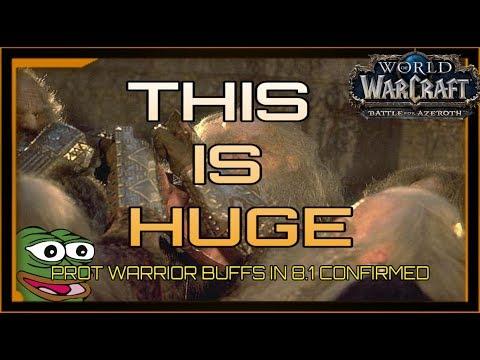 8.1 prot warrior talents