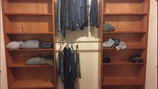 closet organizer. Great project.