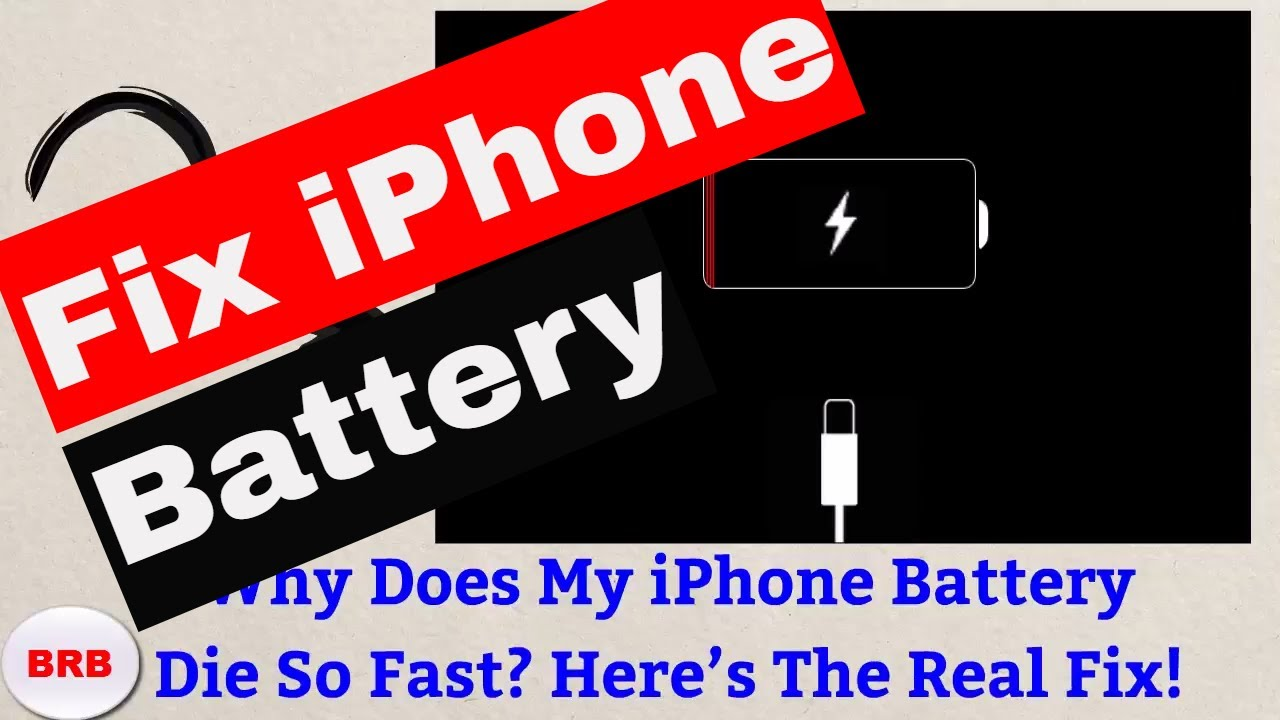 Iphone  Battery Draining Fast All Of A Sudden