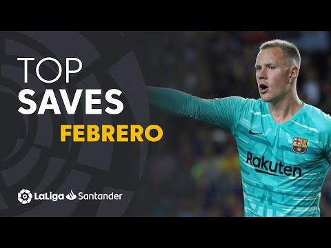 TOP Paradas Febrero LaLiga Santander 2019/2020