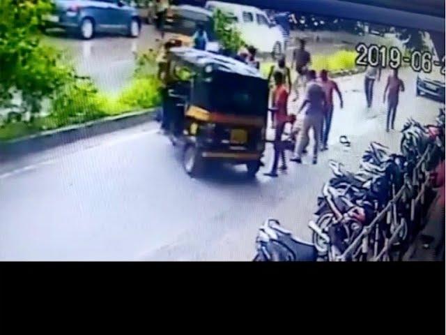 High speed car hit vehicles around in Trivandrum City ; Car Owner  Surrendered