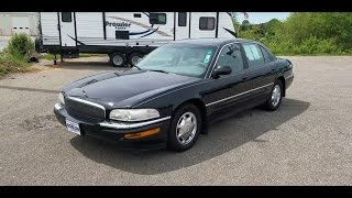 2000 Buick Park Avenue Start-Up, Tour, and One-Take Review