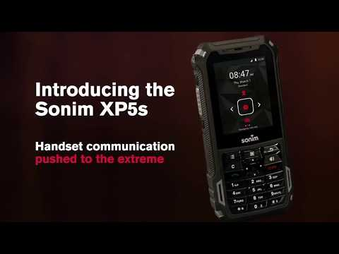 Sonim Xp5s Video Clips Phonearena
