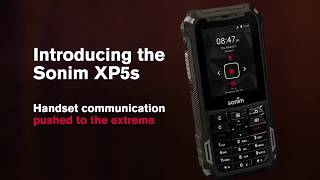 Sonim XP5s Ultra-Rugged Mobile Device