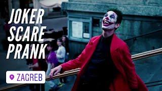 PLAŠIM LJUDE U CENTRU GRADA! (Joker scare prank) | Magic Leon