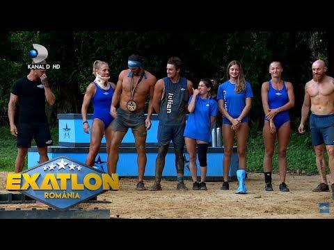 Exatlon Romania(08.11.) - Imagini delicioase cu Alin, Corina si Madalina. Cum s-au distrat cei trei?