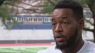Jamal Speaks, a senior at Ballou High School, kicked off football team because he is homeless