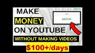 How to Earn Money on YouTube Without Making Any Video 💰 How to Earn Money on YouTube 💰