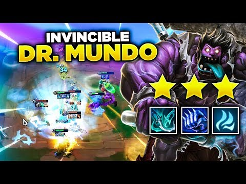 MY MUNDO WAS INVINCIBLE! | Teamfight Tactics