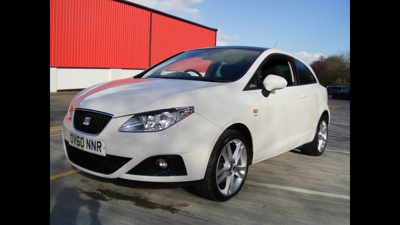 2010 seat ibiza sportcoupe cr sport 1 6 tdi now sold youtube. Black Bedroom Furniture Sets. Home Design Ideas