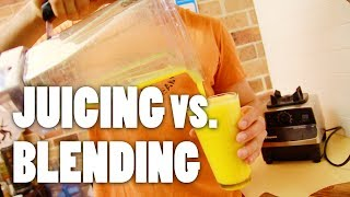 Juicing Vs. Blending — how To Make Orange Juice With A Blender