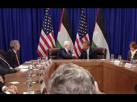 President Obama's Bilateral Meeting with President Abbas of the Palestinian Authority