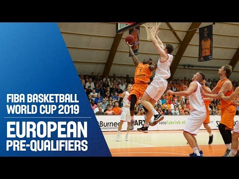 Netherlands v Austria - Full Game - FIBA Basketball World Cup 2019 - European Pre-Qualifiers