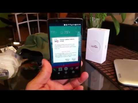 LG G4 - Software Update Verizon