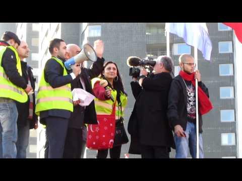 Şehitler için yürüyüş - Rotterdam Leuvehaven HOLLANDA