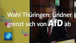 Regierungskrise in Thüringen: FDP-Chef Lindner äußert sich
