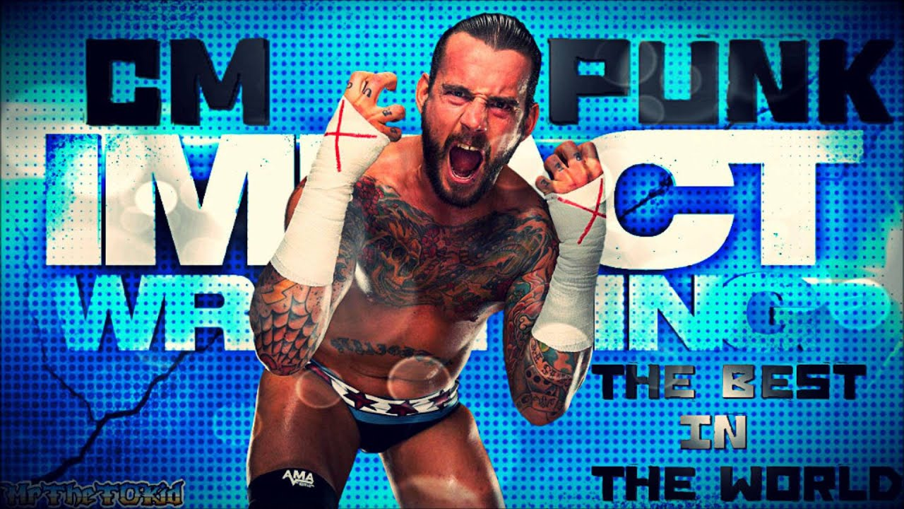cm punk tna impact - photo #3