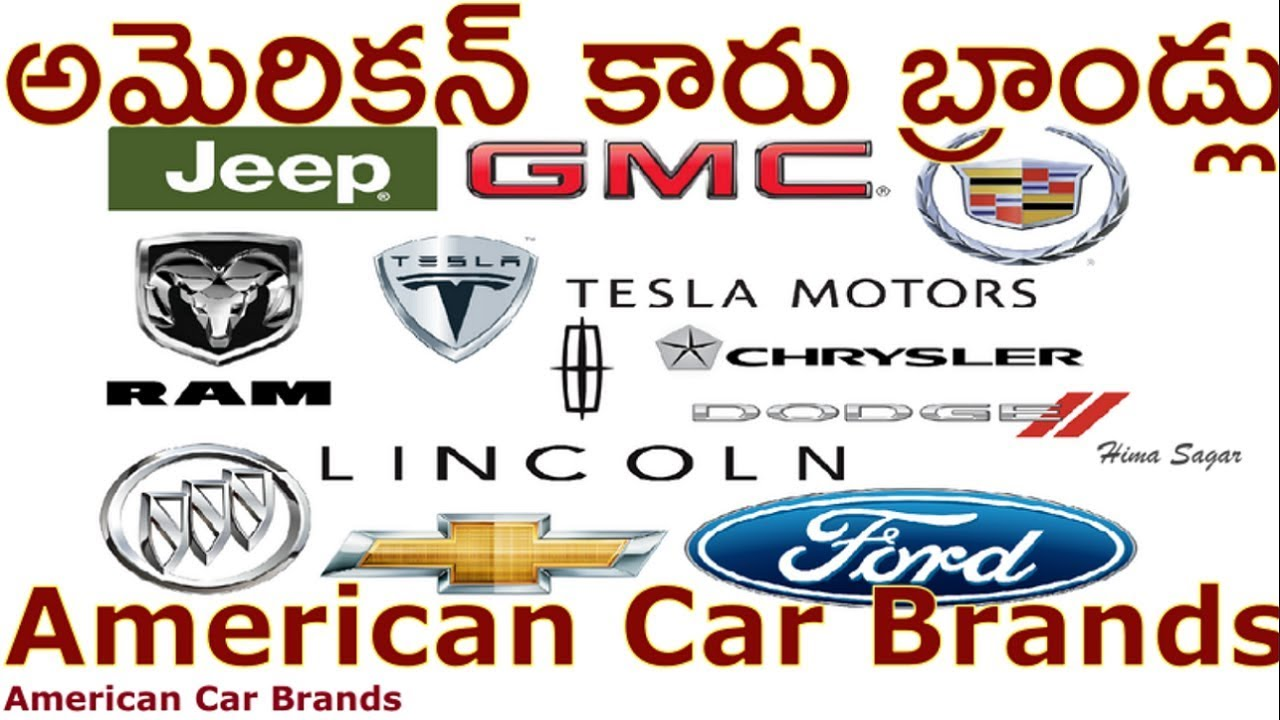 Car Brands Starting With A >> American Car Brands All American Car Companies Youtube