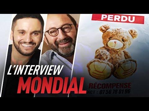 L'interview Coupe du monde de Malik Bentalha et Kad Merad (Le Doudou)