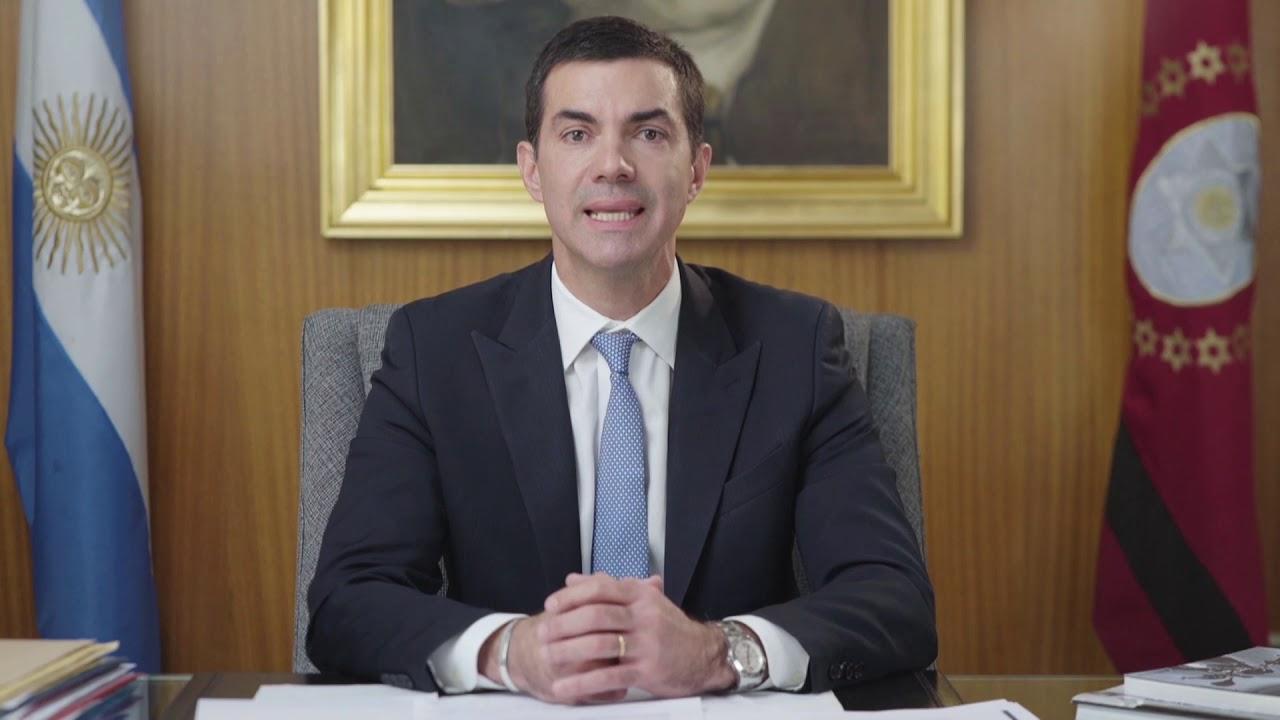 MENSAJE DE JUAN MANUEL URTUBEY   CONFLICTO DOCENTE   JULIO 2019   CABLE A TIERRA   SALTA