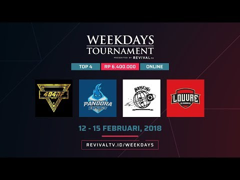 Weekdays Tournament by RevivaLTV - Day 3 - Semifinal
